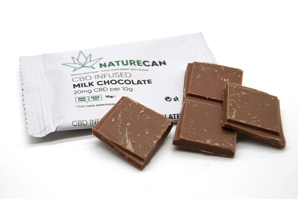 CBD mléčná čokoláda 10 g